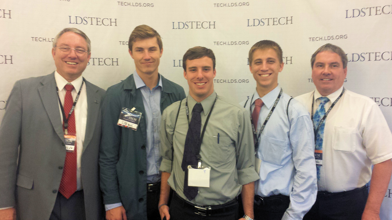 Our My Mission development team at LDSTech, October 17, 2014.