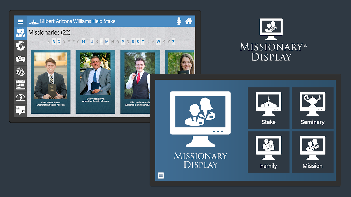 Missionary Displays help LDS families create and share a legacy of missionary service.