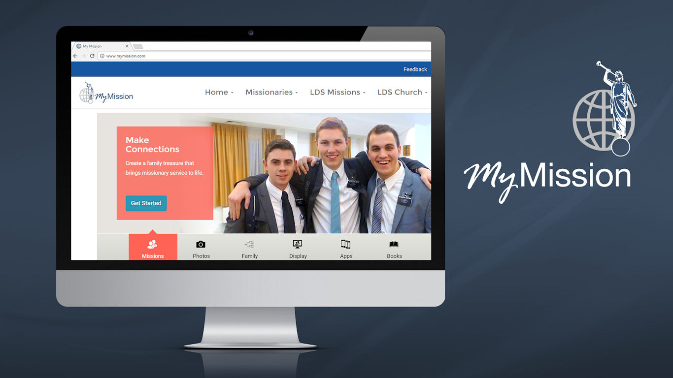 Parents can use the My Mission website (www.MyMission.com) to collect, organize and share their missionary experiences with your stake.